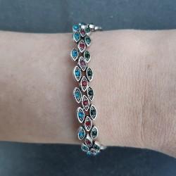 Drie kleuren armband